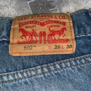 Men's Levi's ripped tapered jeans